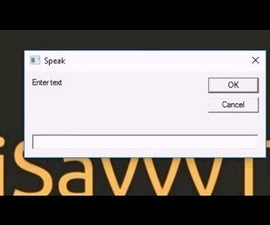How to Make Your Computer/PC Speak? [Like Jarvis] [DIY]