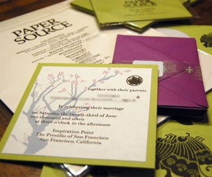 Make Your Own Wedding Invitations
