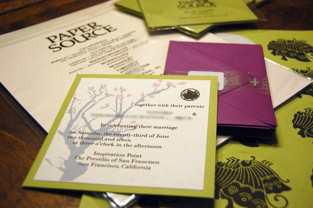 make your own wedding invitations  9 steps with pictures