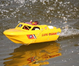 Playmobil converted RC JetBoat