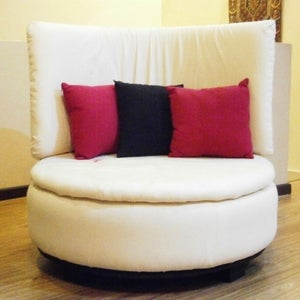 Tire to Round Sofa Chair!