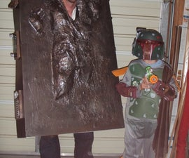 Han Solo in Carbonite Costume