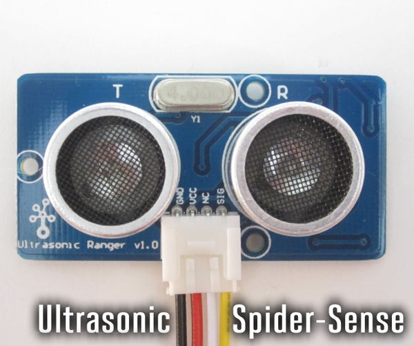 Ultrasonic Spider-Sense