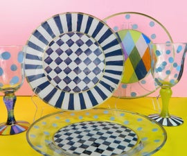 How to Permanently Paint Glass Dishes