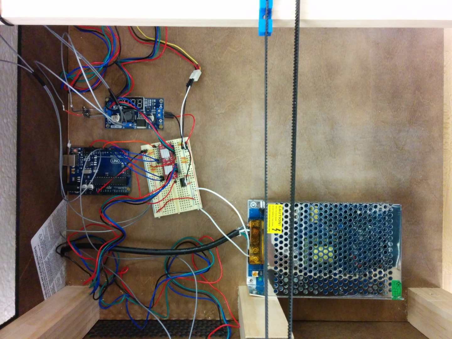 Picture of Testing and Installing Electronics