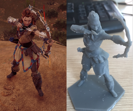 3D Print Your Favorite Videogame Character