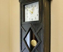 How to Make a Pendulum Box Clock!