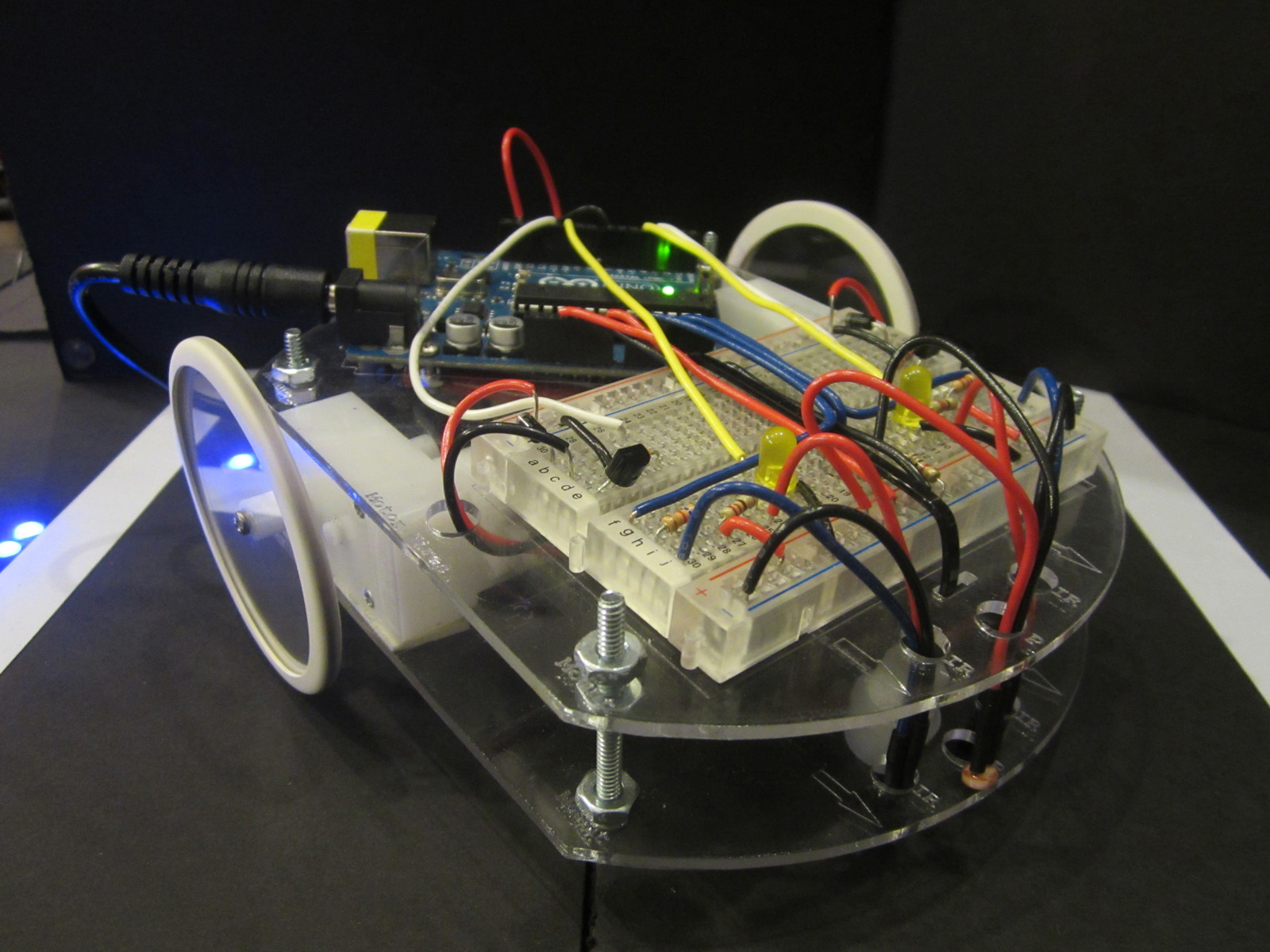 Picture of Arduino Line Following Robot for Beginners