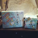 Make Wrapping Paper Out of Recycled Map or Chart