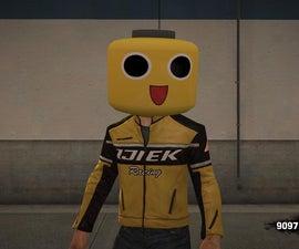 Chuck Greene Cosplay (With Servbot Lego Mask)