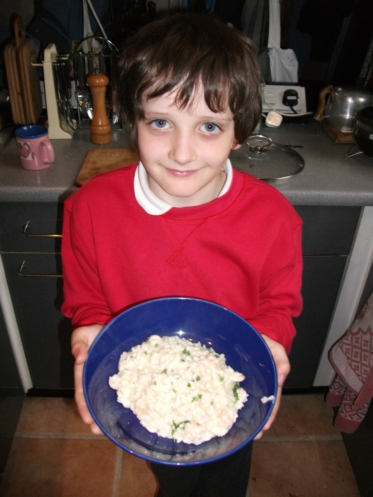 Picture of Simple Prawn(shrimp) Risotto (How Not to Make Crunchy Rice Stew)