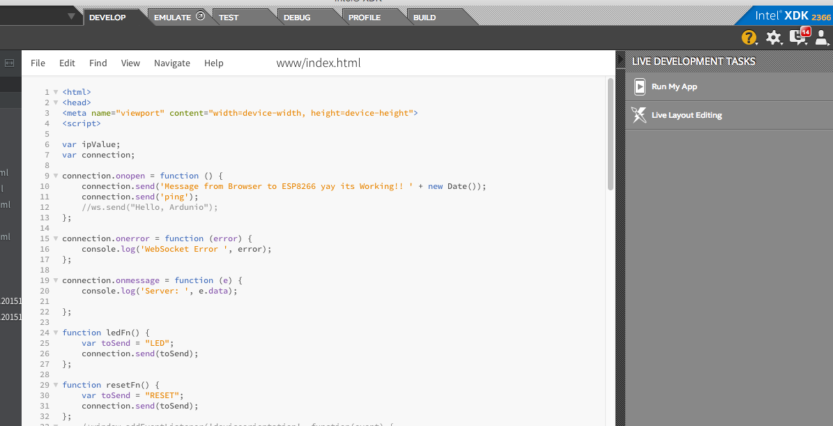 Picture of The Webserver Client