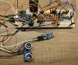 Garage Parking Helper With Arduino