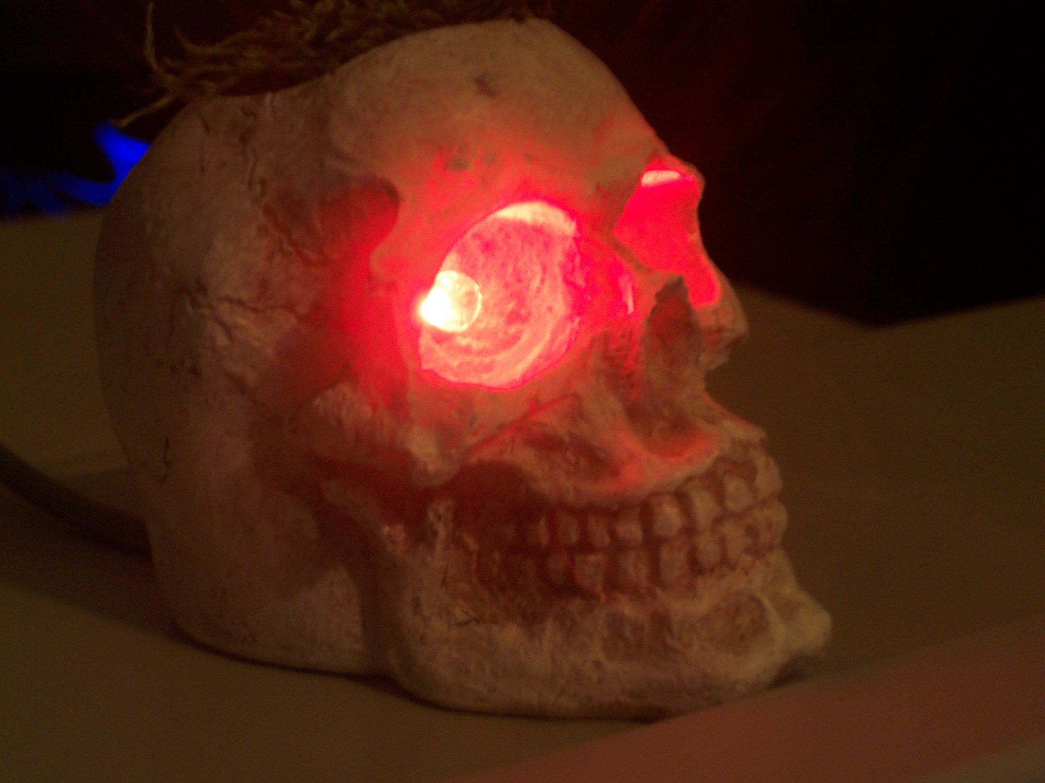 Picture of  LED USB SKULL AIR PLANTER