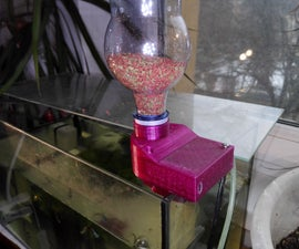 Programmable Aquarium Fish Feeder - Designed Granulated Food