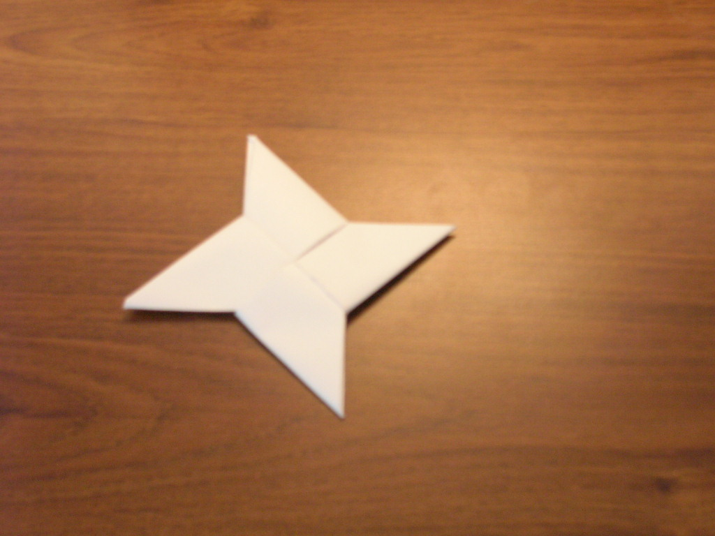 Picture of Paper Throwing Stars