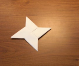 Paper Throwing Stars