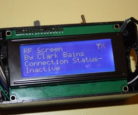 Wireless Arduino Display With 315mhz RF Modules