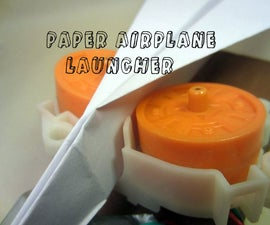 NERF Paper Airplane Launcher