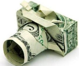 How to Make an Origami (money Origami) Dollar Bill Digital Camera!