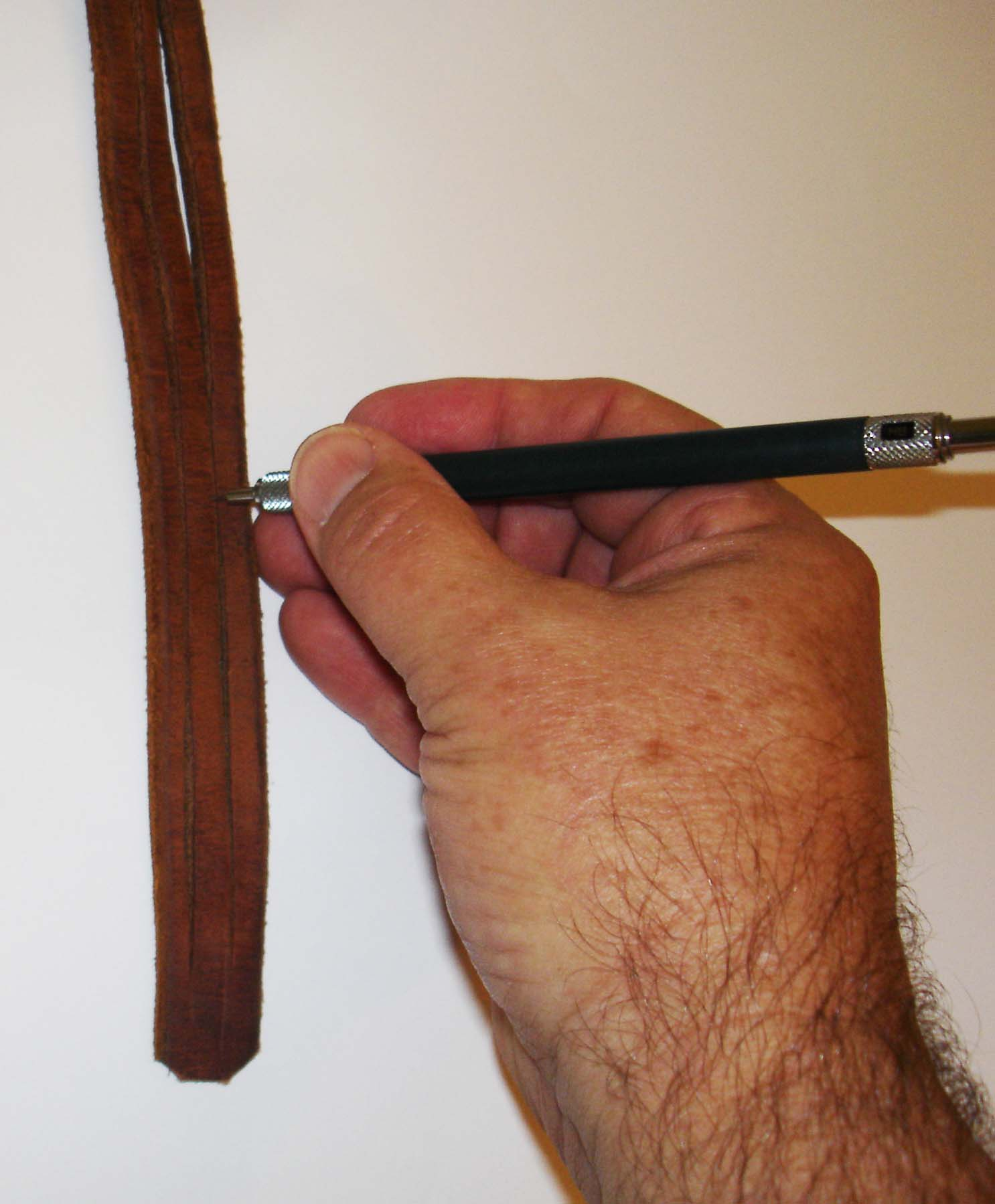 Picture of Marking the Leather