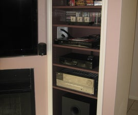 How to Create a Recessed Audio/Video Pier for a Wall Mounted TV