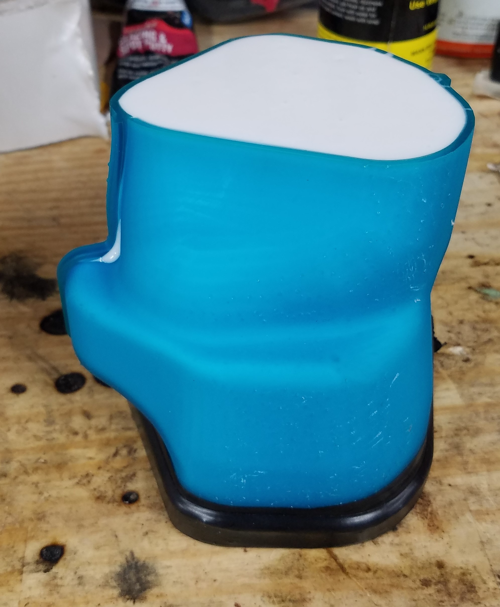 Picture of Pouring the Silicone: Main Body and Bottom