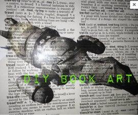 DIY Book Art