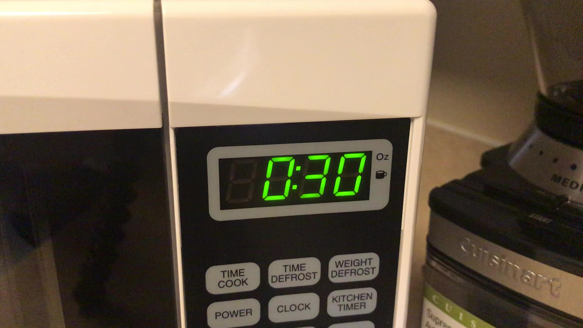 Picture of Heat Up the Milk for 30 Seconds in Microwave.