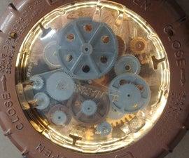 Steampunk Mechanical Heart Chest Piece