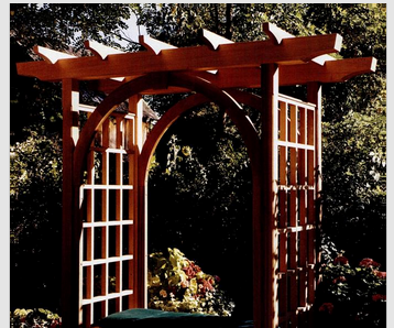 How To Build A Garden Trellis With Bench Seat 5 Steps