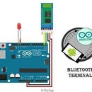 Controlling the Brightness of LED Using Arduino and Bluetooth Module(HC-05)
