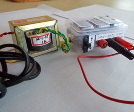 Very Efficient But Crude DC Power Supply :)