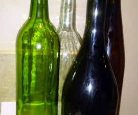 How to Prep Wine Bottles for Crafting