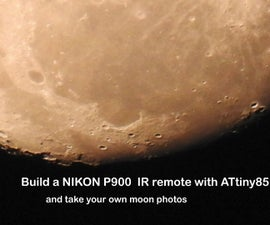 Nikon IR remote and time laps with ATtiny 85