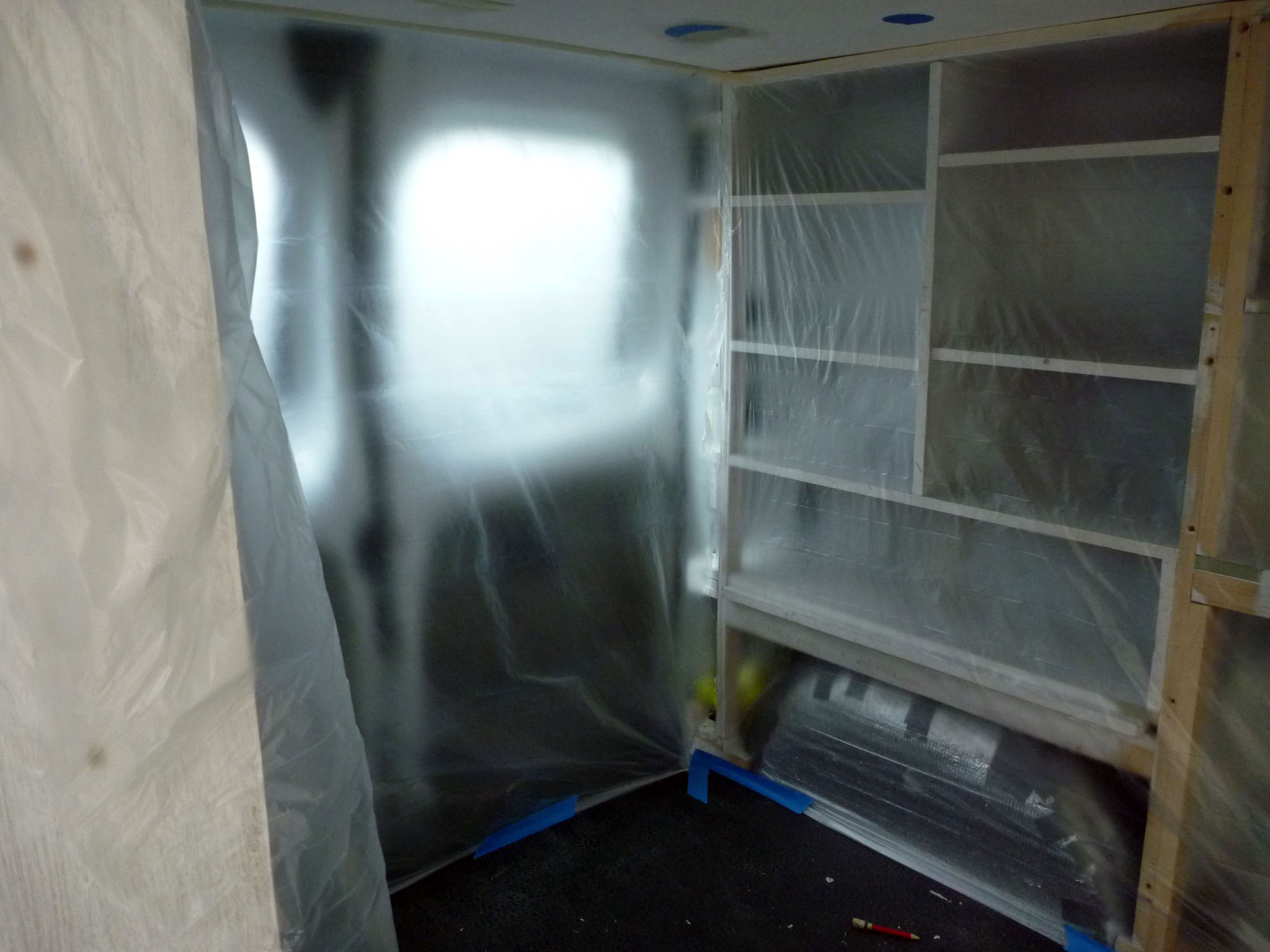 Picture of Finishing the Panels / Closet Doors & Ceiling.