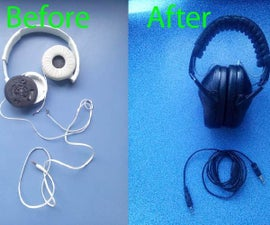 Reassembly Headphones Into a High Quality Case