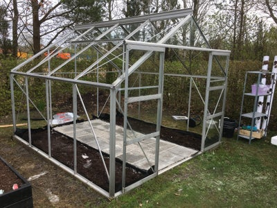 Cleaning the Greenhouse.