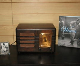 Vintage Tube Radio & MP3 Upgrade