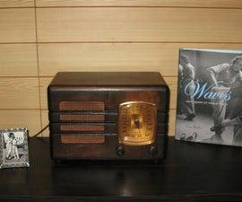 Vintage Tube Radio & MP3 Upgrade
