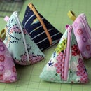 How to Make a Triangular Zipper Pouch