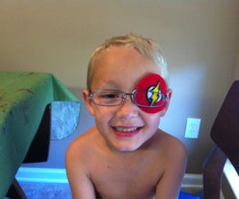 Kids Eye Patch (to be used with glasses)