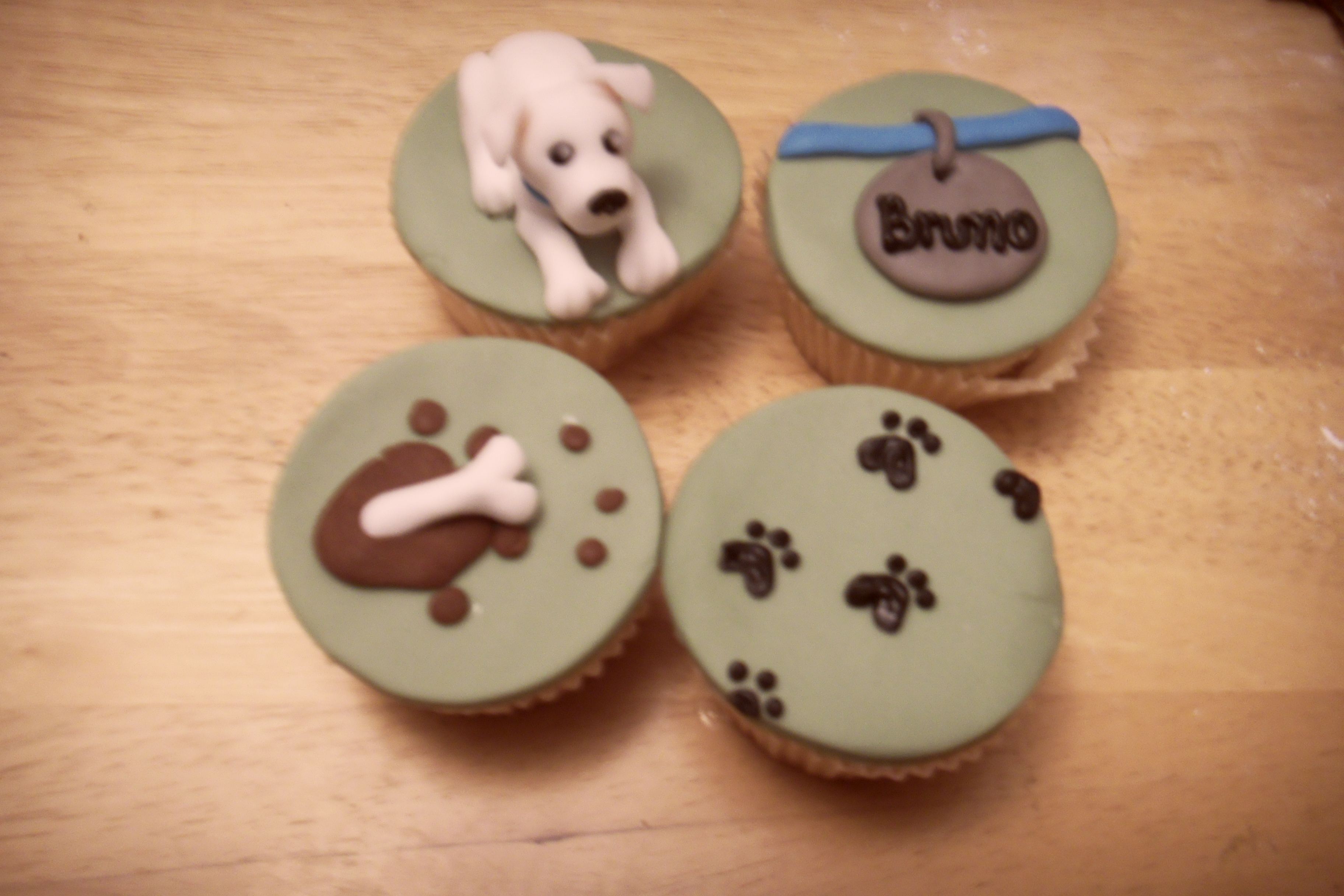 Picture of How Much Is That Doggy in the Window? Cute Doggy Themed Cupcake Tutorial