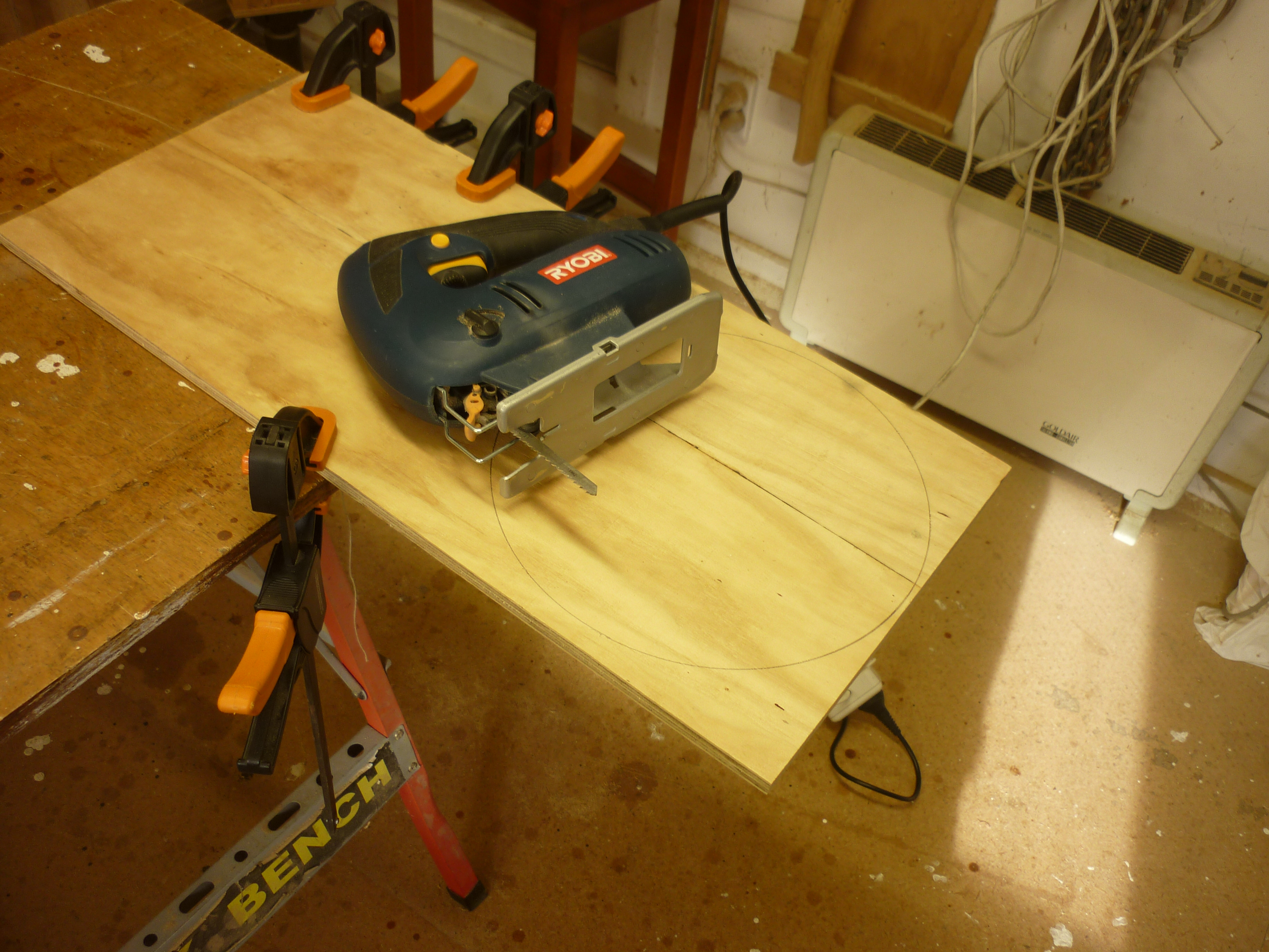 Picture of Make the Plywood Backing