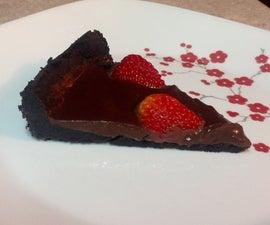 No- Bake Chocolate Strawberry Tart