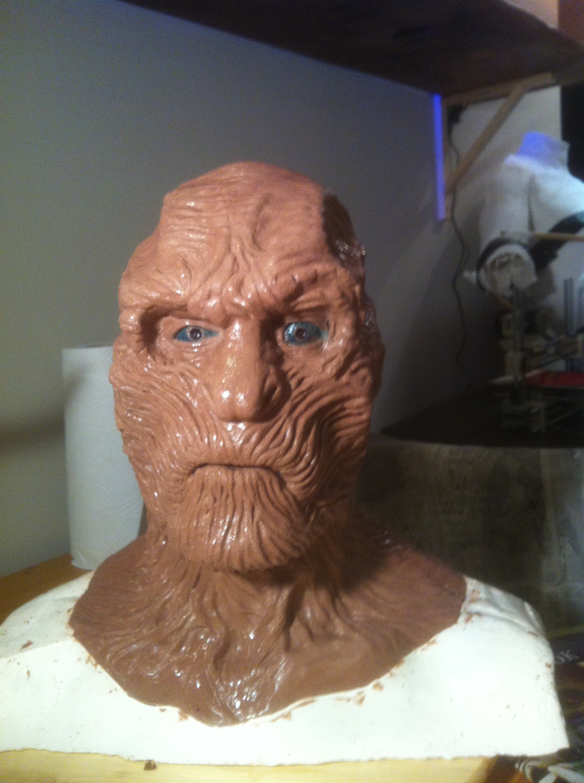 "Picture of White Walker/ Other ""Game of Thrones"" Halloween Costume 2012"