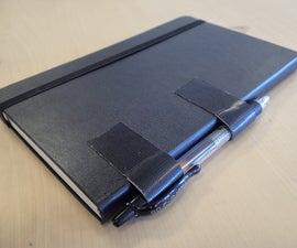 The Simplest Journal Pen Holder
