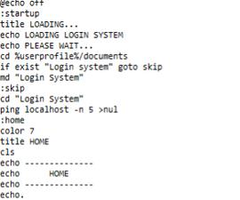 Ultimate batch Login System