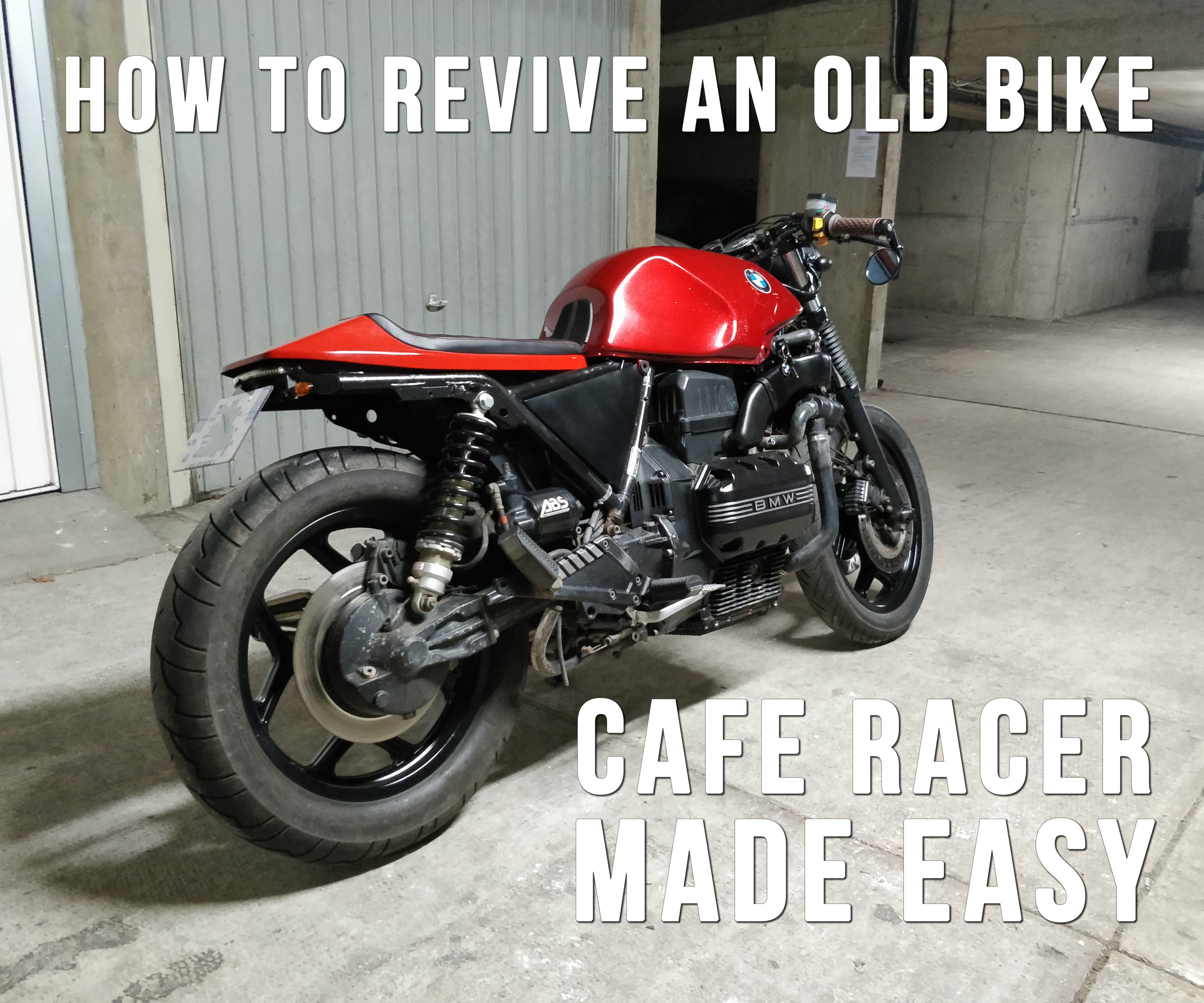 Give a New Life to an Old Motorcycle! How to Build a Cafe