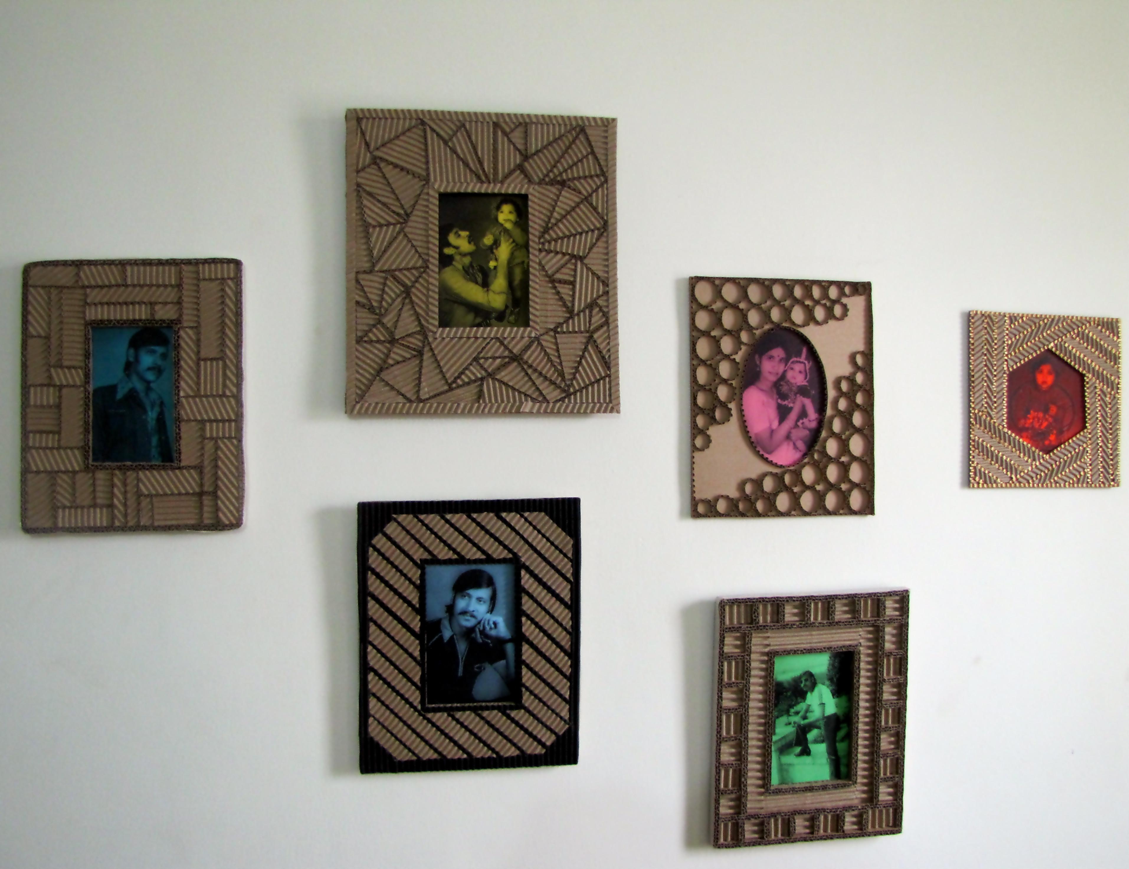 Designer Cardboard Photo Frames, a Mega Tutorial: 11 Steps (with ...